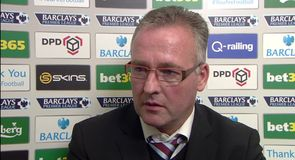 Lambert proud of Villa effort