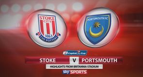 Stoke 3-0 Portsmouth