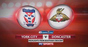 York 0-1 Doncaster