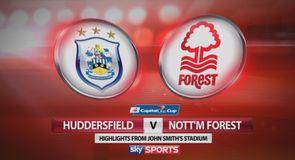 Huddersfield 0-2 Nottingham Forest