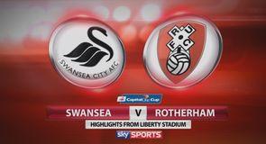 Swansea 1-0 Rotherham