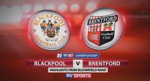 Blackpool 1-2 Brentford