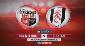 Brentford 0-1 Fulham