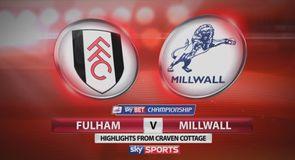 Fulham 0-1 Millwall