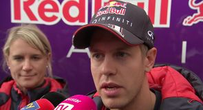 Vettel discusses technical difficulties