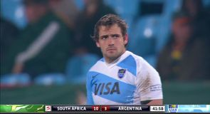 South Africa 13-6 Argentina - Highlights