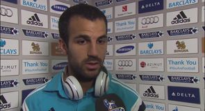Fabregas at home in blue