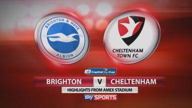 Brighton 2-0 Cheltenham
