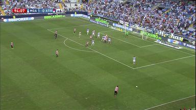 Goalkeeper denied last-minute equaliser!