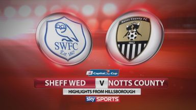 Sheffield Wed 3-0 Notts County