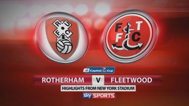 Rotherham 1-0 Fleetwood