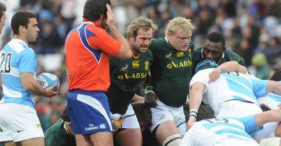 Springbok scrum in dire state