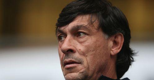 Argentina rugby coach Daniel Hourcade