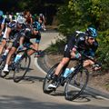 Tracy Rees captured Bradley Wiggins and Sebastián Henao in action on a descent through Malvern