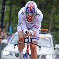Sir Bradley Wiggins was looking to round off the race on a high