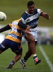 Auckland wing Lolagi Visinia against Bay of Plenty