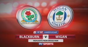 Blackburn 3-1 Wigan