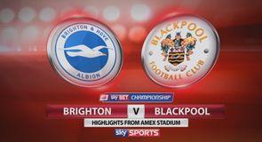 Brighton 0-0 Blackpool