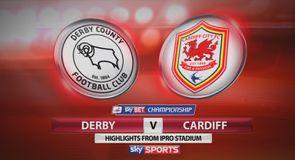 Derby 2-2 Cardiff