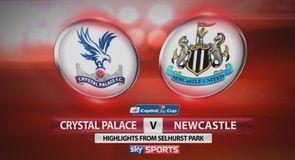 C Palace 2-3 Newcastle