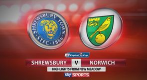 Shrewsbury Town 1-0 Norwich