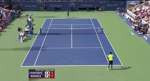 Dimitrov v Monfils - Highlights