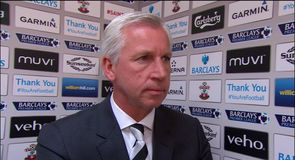 Pardew disappointed by display