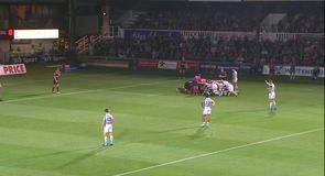 Dragons 15-17 Ospreys - Highlights
