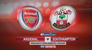 Arsenal 1-2 Southampton