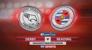 Derby 2-0 Reading