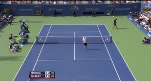 Tsonga v Murray - Highlights
