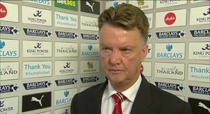 Van Gaal in disbelief
