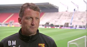 Mixed emotions for new Watford boss