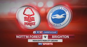Nott'm Forest 0-0 Brighton