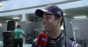 Ricciardo happy with third