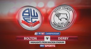 Bolton 0-2 Derby