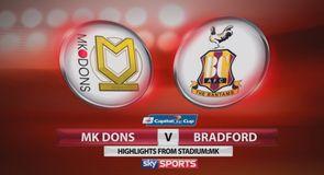 MK Dons 2-0 Bradford