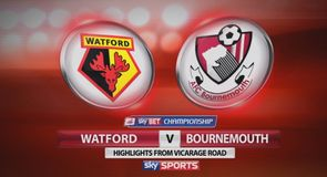 Watford 1-1 Bournemouth