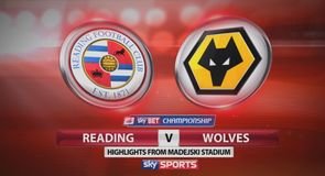 Reading 3-3 Wolves