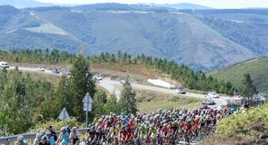 Stage 20 took the riders on a 185.7km route ending on Puerto de Ancares