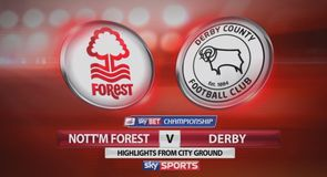 Nott'm Forest 1-1 Derby