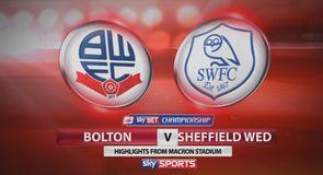 Bolton 0-0 Sheff Wed