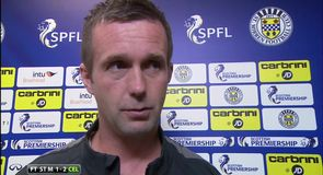 Deila disappointed with performance