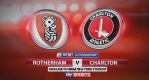 Rotherham 1-1 Charlton