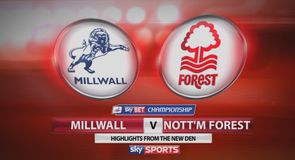 Millwall 0-0 Nottingham Forest