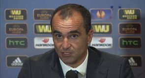 Martinez impressed with team