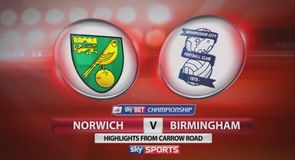 Norwich 2-2 Birmingham