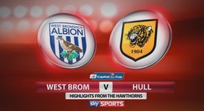 West Brom 3-2 Hull