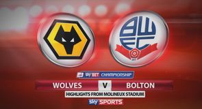 Wolves 1-0 Bolton