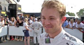 Rosberg played it safe